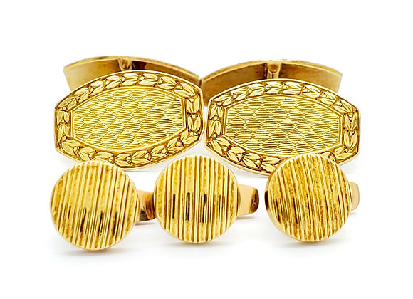 FRENCH CUFFLINKS AND STUDS