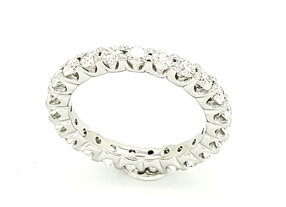 WHITE DIAMOND ETERNITY BAND
