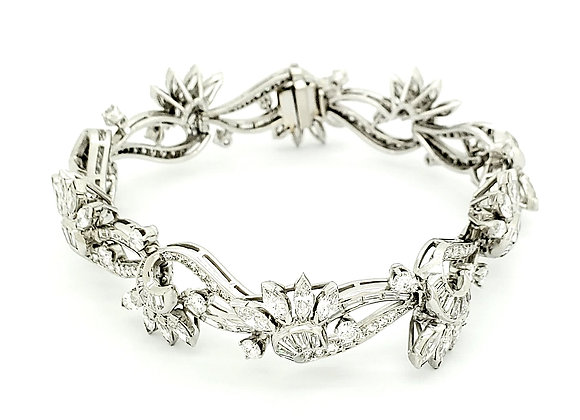 WHITE DIAMOND ESTATE BRACELET