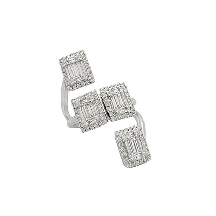 BAGUETTE FASHION DIAMOND RING