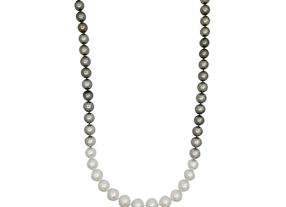 Opera Ombre South Sea and Tahitian Pearl Necklace