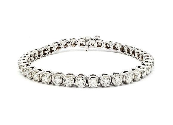 WHITE DIAMOND TENNIS BRACELET