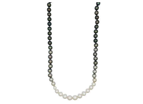 SOUTH SEA AND TAHITIAN HOMBRE OPERA NECKLACE