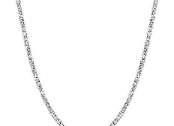 WHITE DIAMOND OPERA NECKLACE
