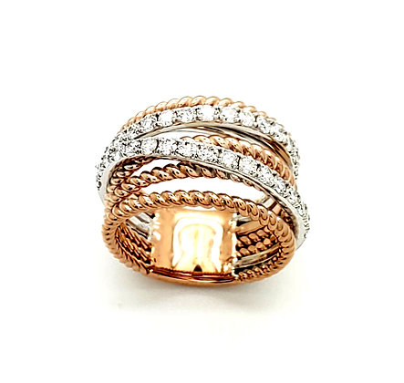 MULTI BAND DIAMOND RING