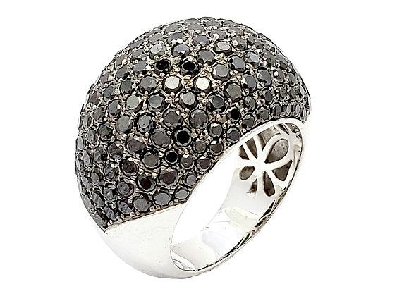 BLACK DIAMOND COCKTAIL RING