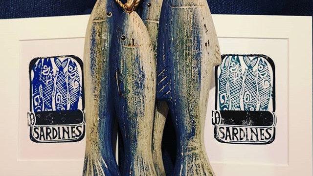 Sardine tin print