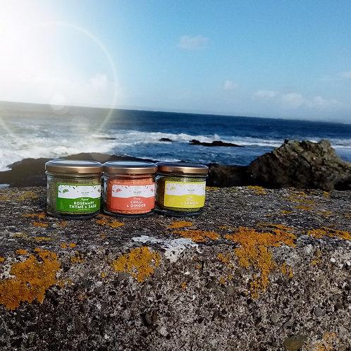 Flavour Infused Sea-Salt Seasoning (Jar Set)