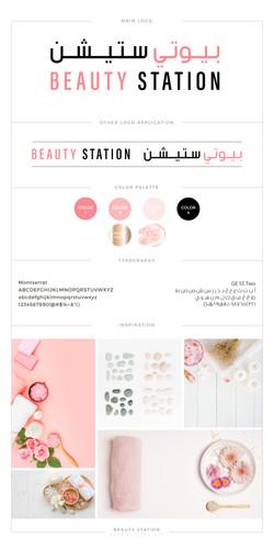 Beauty Station Brand Board-01
