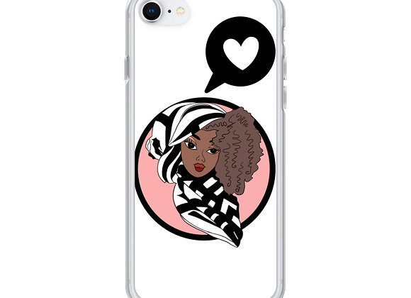 White Deen Doll iPhone Case copy