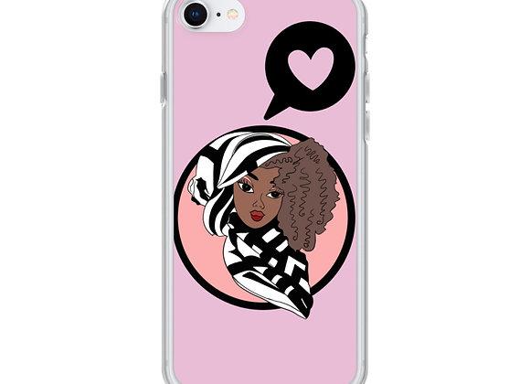 Pink Deen Doll iPhone Case