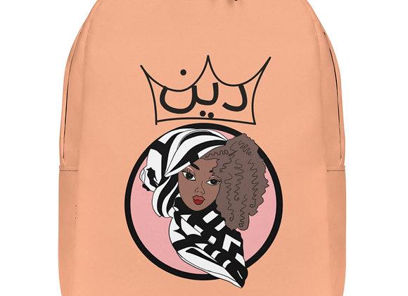 Minimalist Deen Pastel Peach Backpack