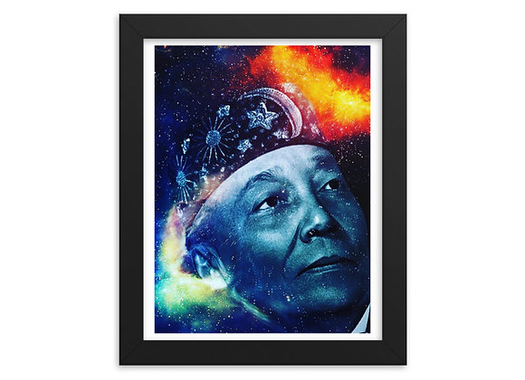 The Universal Teachings - Most Honorable Elijah Muhammad Framed paper poster