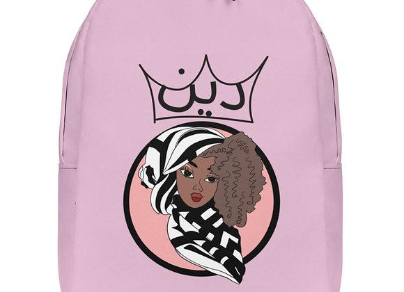 Minimalist Deen Pastel Pink Backpack  copy