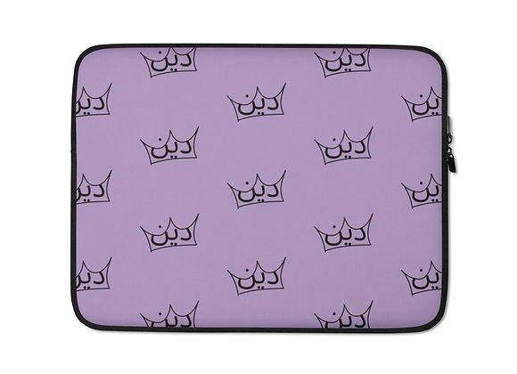 Deen Lilac Laptop Sleeve