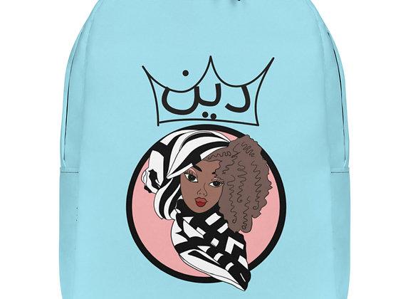 Minimalist Deen Pastel Powder Blue Backpack