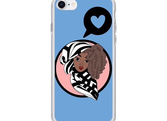 Blue Deen Doll iPhone Case