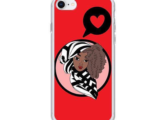 Red Deen Doll iPhone Case