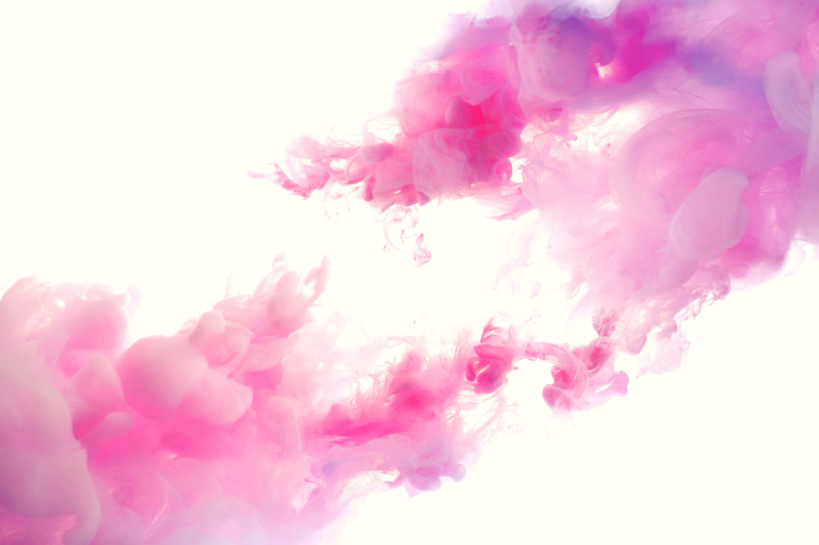 Beautiful colorful abstract pink and whi