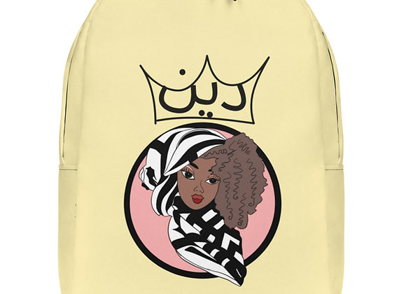 Minimalist Deen Pastel Yellow Backpack