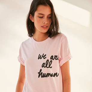 We Are All Human tee