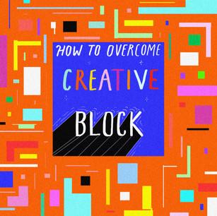 Comic: How To Overcome Creative Block