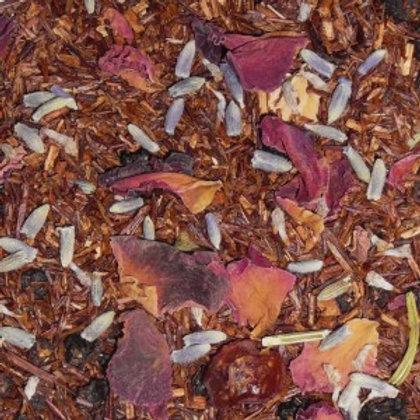 Thé Rooibos de Provence fleurs et fruits 70g.