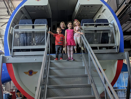 Trip to Frontiers of Flight Museum