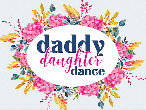 Daddy Daughter Dance Season is Here!