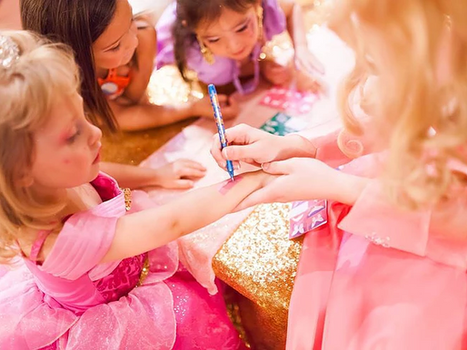 Not your average princess party, dreams do come true!
