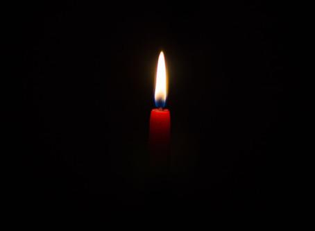 Darkness. Enter Light...