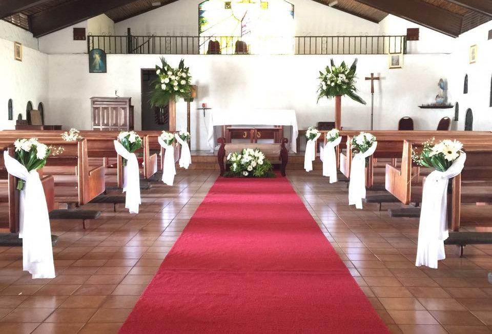 Decoracion iglesia ( desde)