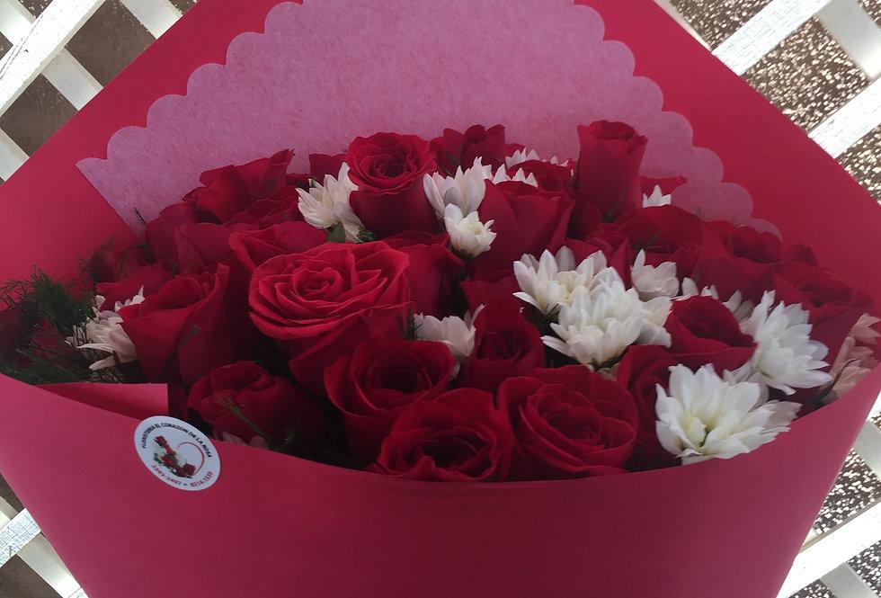 M58/24 rosas decoradas