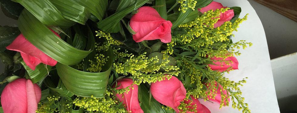 M 36/12 rosas decoradas