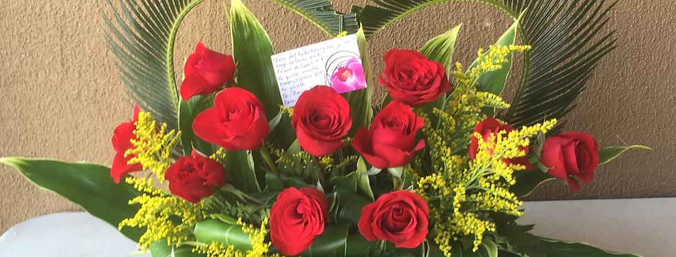 M44/Corazon con rosas