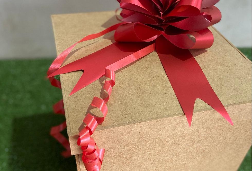 Caja sorpresa con 24 girasoles