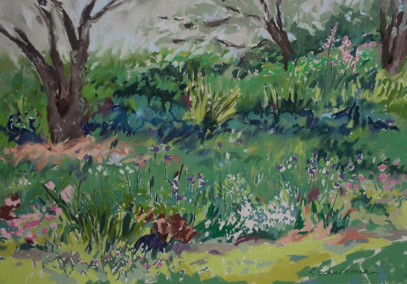Summer Border Garden