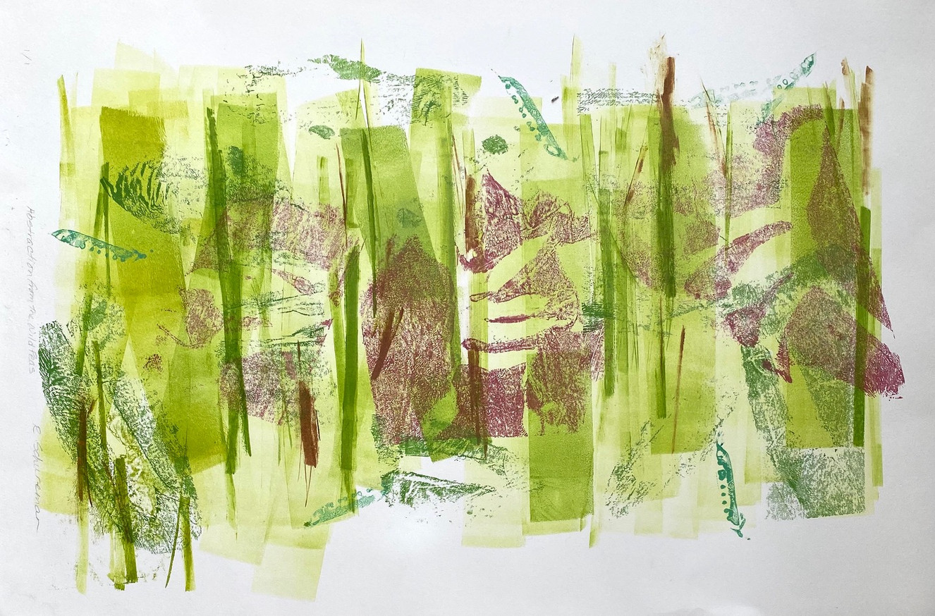 Abstraction of The Wild Peas