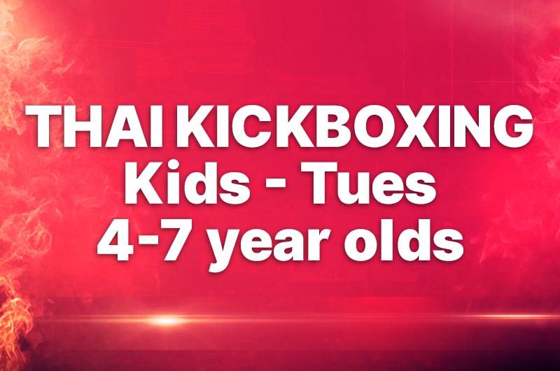 THAI KICKBOXING - CHILDREN 4-7 YEAR OLDS