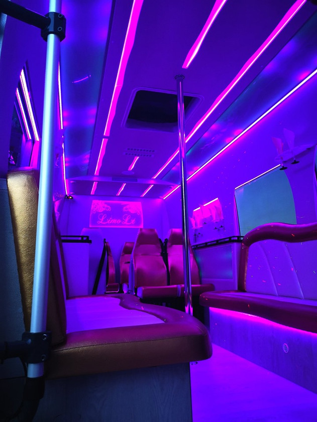 The party will be a bus installation