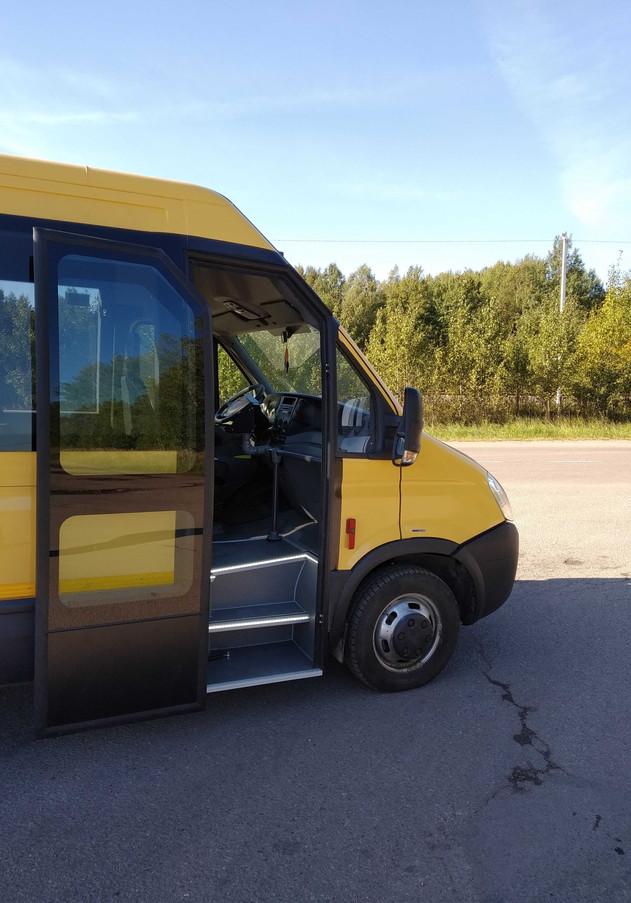 autobusu irengimas