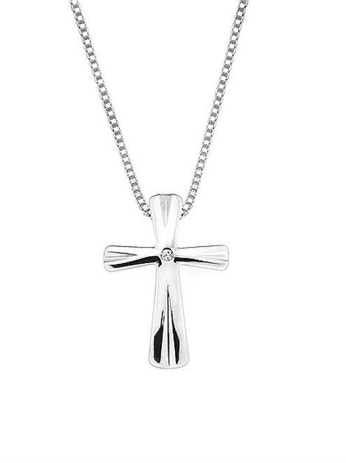 Diva Diamonds® Cross Pendant