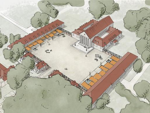 Zuschlagserteilung für die Neugestaltung des Vorplatzes am Festspielhaus Hellerau