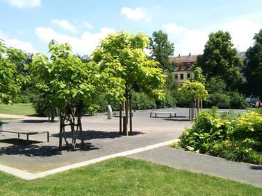 Parkerweiterung Alaunpark