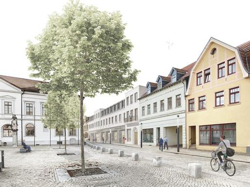 1. Preis bei dem Realisierungswettbewerb ROLAND-Kaufhaus in Haldensleben