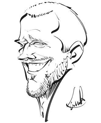 Frank Rapke Karikatur