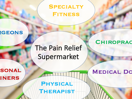 The Pain Relief Supermarket