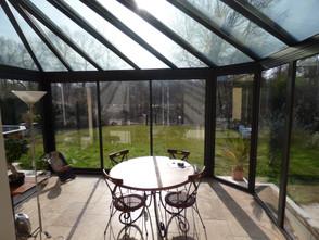 veranda toitire vitree arrondie
