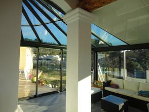 veranda toiture vitree sur-mesure