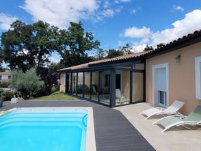 pool house vitré